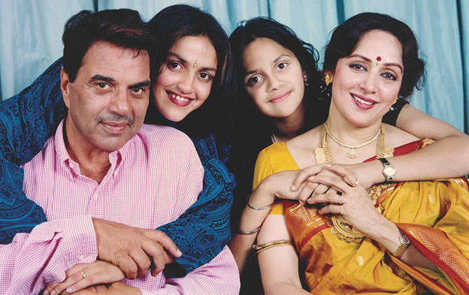 I am happy with whatever Dharamji did for me' - Rediff.com movies