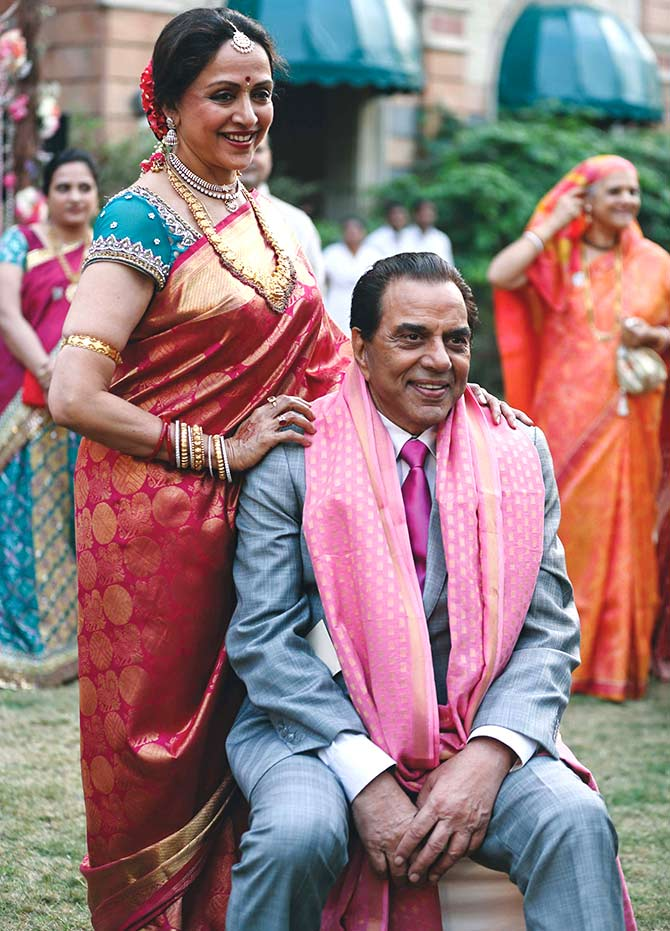 I am happy with whatever Dharamji did for me' - Rediff com