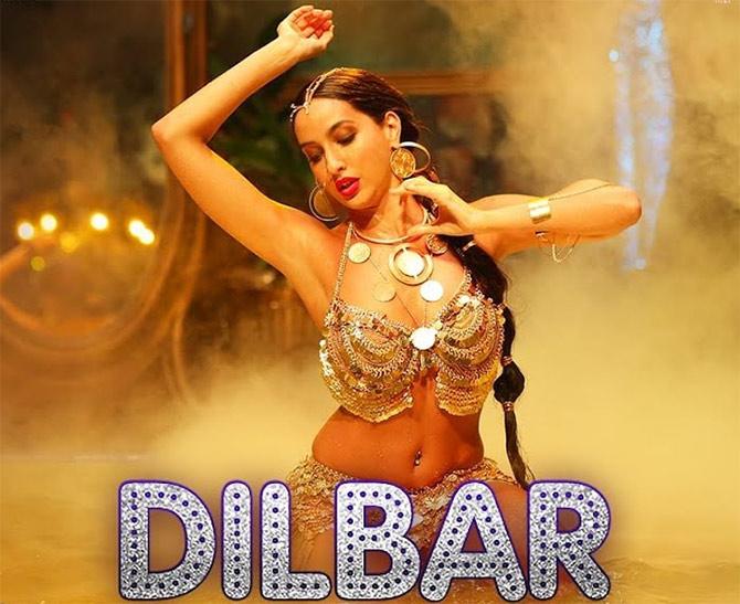 Nora Fatehi's Dilbar dance number in Parmanu