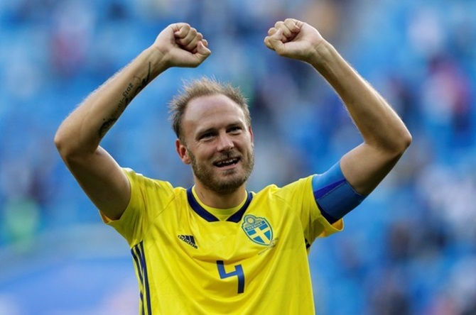 Sweden's Granqvist ready to show England what they missed