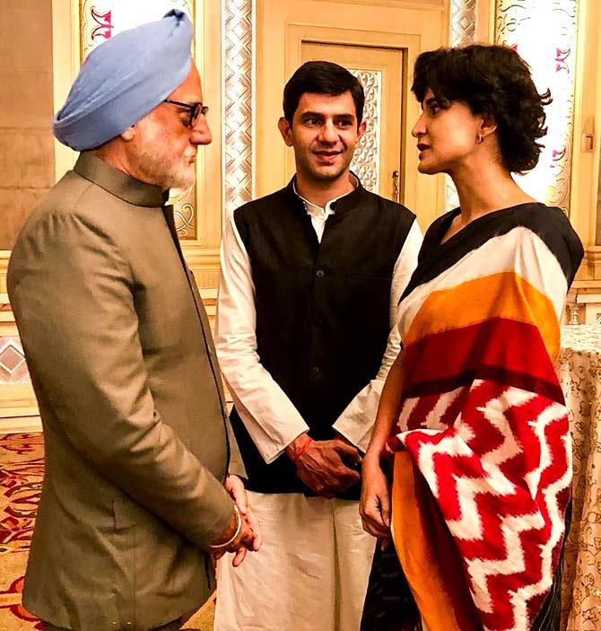 Image result for arjun mathur rahul gandhi