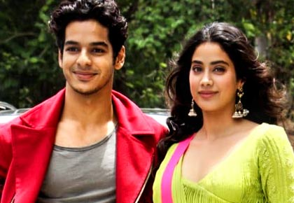 Current Bollywood News & Movies - Indian Movie Reviews, Hindi Music & Gossip - 'I am really proud of Dhadak and these kids'