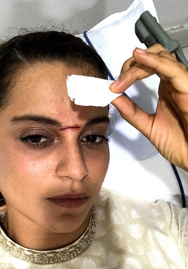 All the action from Kangana's Manikarnika - Rediff.com movies