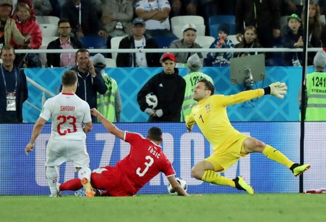 Hard road for Serbia after painful loss to Switzerland