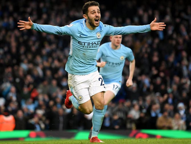 PHOTOS: Man City march on; Chelsea and Arsenal woes continue