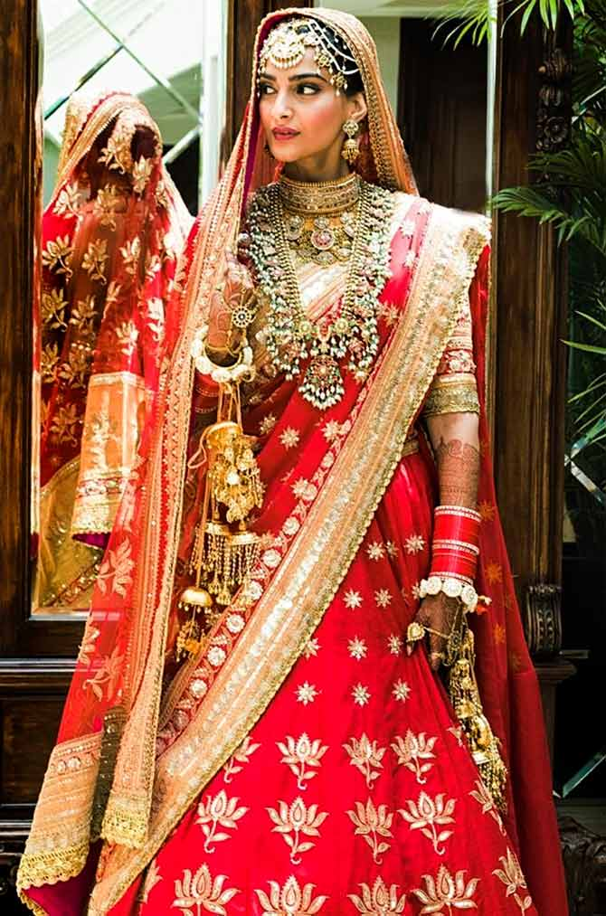 Deepika, Priyanka or Sonam: Vote for the most beautiful bride in red
