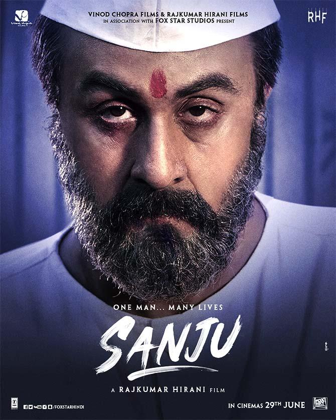 Which Ranbir poster looks like Sanjay Dutt? - Rediff.com ...