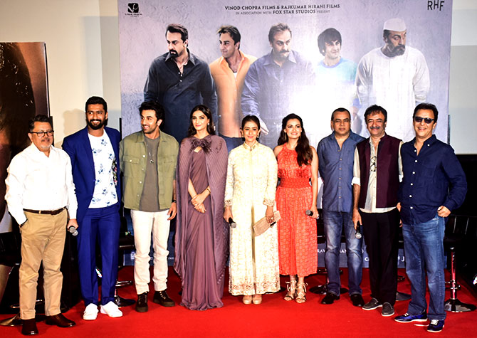 The story of Sanju is different from the Sanjay Dutt I know
