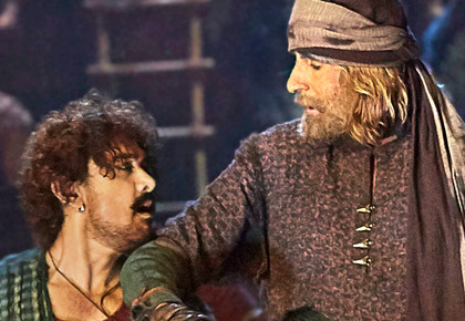 Current Bollywood News & Movies - Indian Movie Reviews, Hindi Music & Gossip - Review: Beware of Thugs of Hindostan