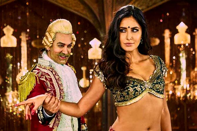 A scene from Thugs of Hindostan
