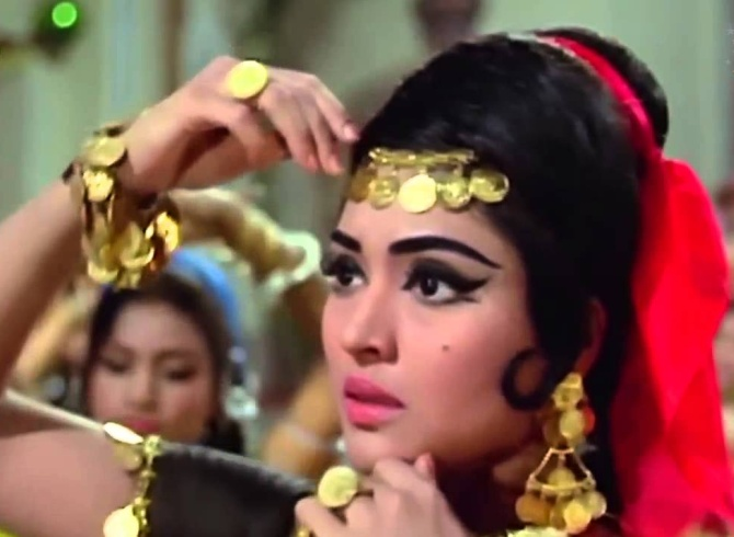 Vyjayanthimala in Jewel Thief