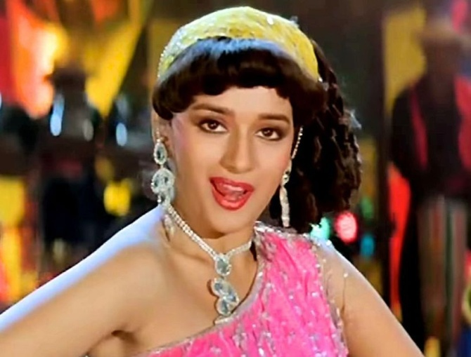'Ek Do Teen' from Tezaab
