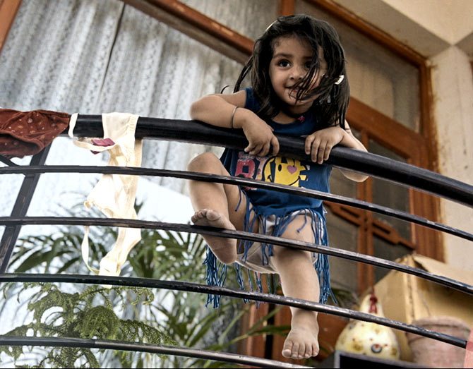 What if a two-year-old kid gets stuck at home?' - Rediff com movies