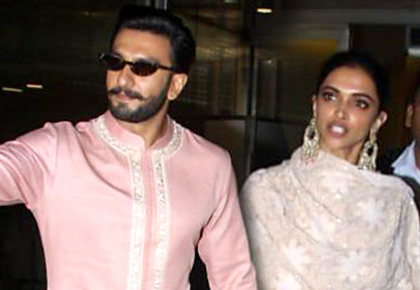 Current Bollywood News & Movies - Indian Movie Reviews, Hindi Music & Gossip - DeepVeer back in Mumbai!