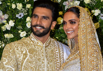 Current Bollywood News & Movies - Indian Movie Reviews, Hindi Music & Gossip - WATCH: Deepika-Ranveer at their Mumbai reception