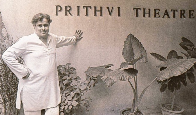 Image result for shashi kapoor prithvi