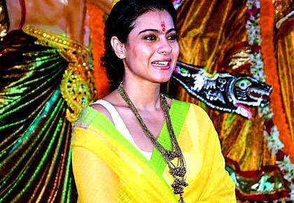 PIX: Kajol celebrates Durga Puja