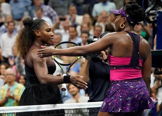 US Open PICS: Serena crushes Venus in sisters' showdown