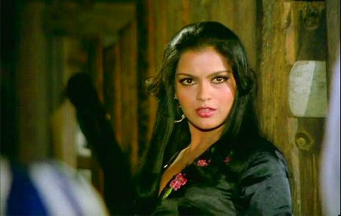 Zeenat Aman in The Great Gambler