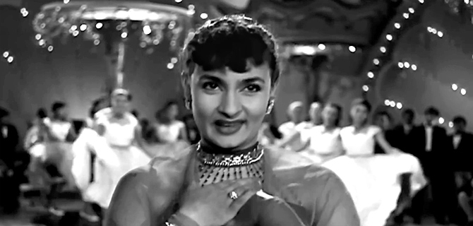 Nadira in Shree 420