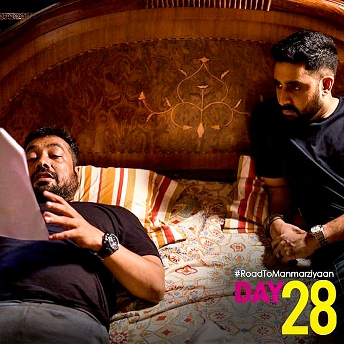 Behind the scenes of Manmarziyan