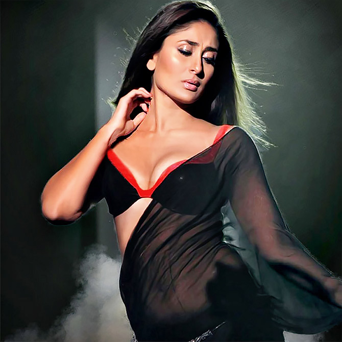 Bollywood Gives The Sari A Sexy Twist - Rediffcom Movies