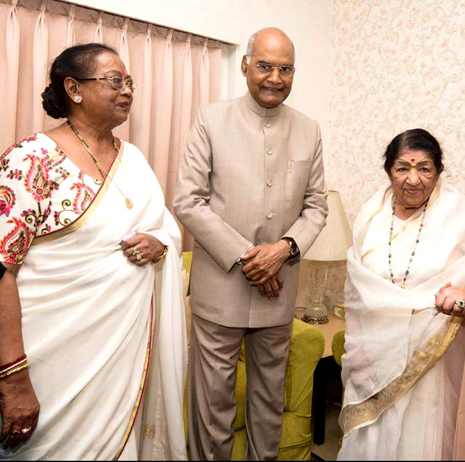 Lata Mangeshkar fine, and back home