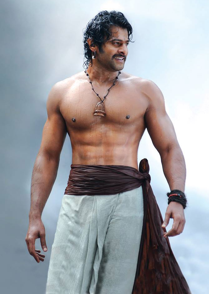 Prabhas in Baahubali: The Beginning.