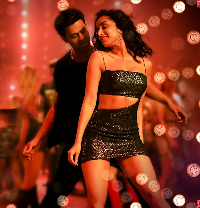 Shraddha with Prabhas in Saaho.