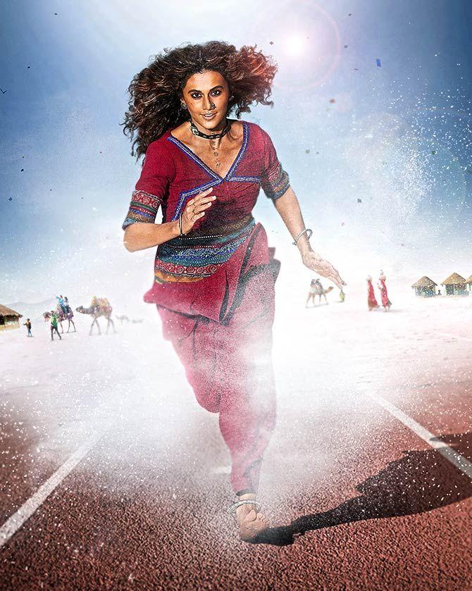 A poster of Rashmi Rocket