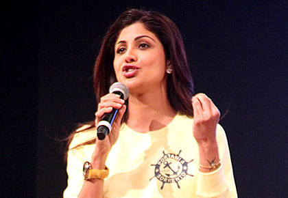 PIX: Shilpa Shetty cheers for her son
