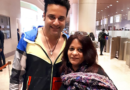 Spotted: Where was Krushna Abhishek heading?