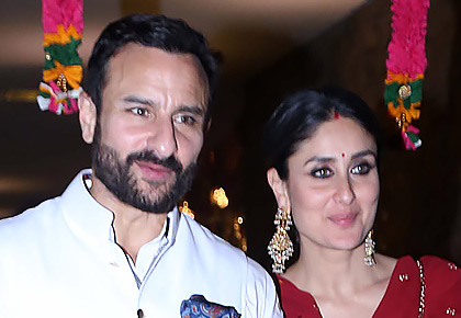 PIX: Saif, Kareena at Armaan's roka ceremony