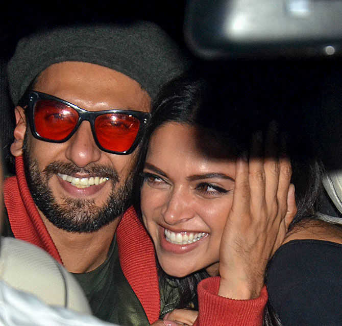 Current Bollywood News & Movies - Indian Movie Reviews, Hindi Music & Gossip - PIX: Ranveer, Deepika, Alia, Ranbir watch Gully Boy