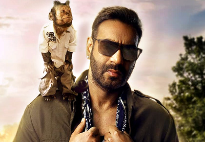 Current Bollywood News & Movies - Indian Movie Reviews, Hindi Music & Gossip - How many times has Ajay Devgn made you laugh?