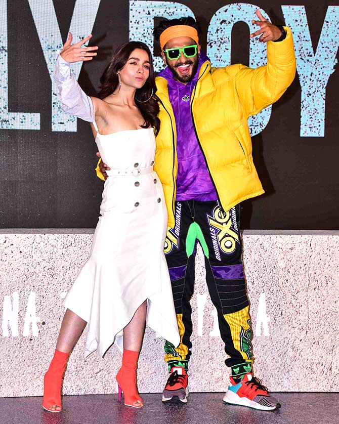 Gully Boy star Ranveer Singh is killing the style game