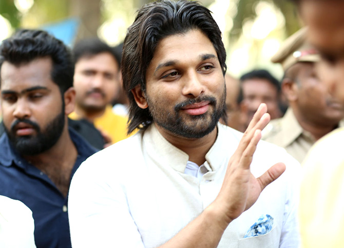 Current Bollywood News & Movies - Indian Movie Reviews, Hindi Music & Gossip - PIX: Allu Arjun's Sankranti plans