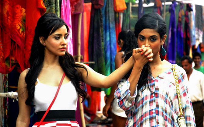 Lesbian love in the movies - Rediff com movies