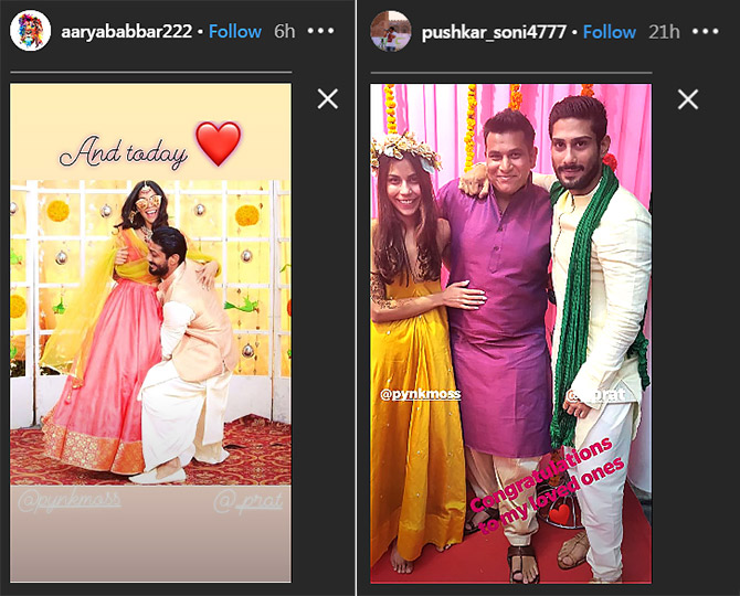Current Bollywood News & Movies - Indian Movie Reviews, Hindi Music & Gossip - PIX: Prateik Babbar weds!