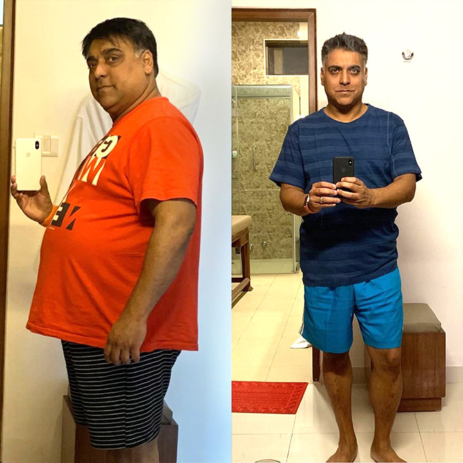 how much weight loss ram kapoor