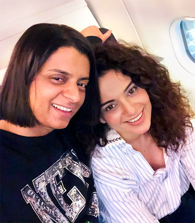 10 times Kangana's sister proved she's a Twitter Terror - Rediff.com movies