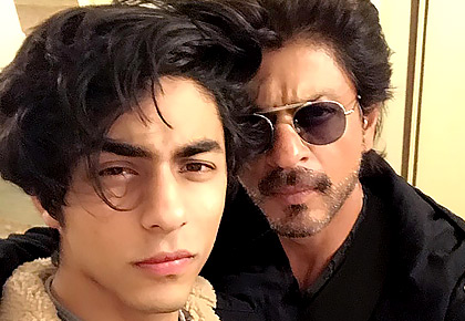 Shah Rukh, son in a film!