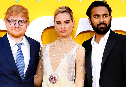 Ed Sheeran gets a slice of Danny Boyle's India