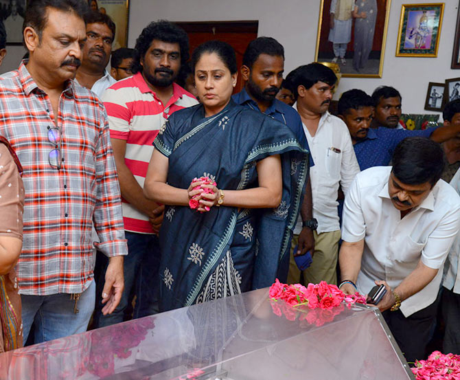 Mahesh Babu's step-mother passes away - Rediff com movies