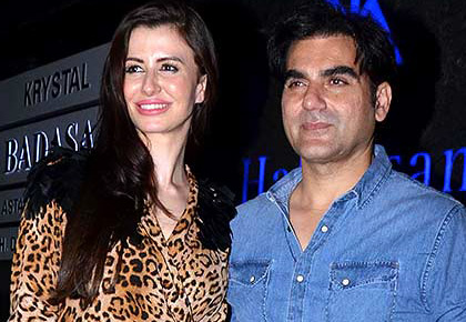 PIX: Arbaaz parties with girlfriend Giorgia