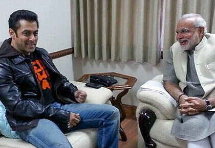 How Salman, Kangana congratulated Modi
