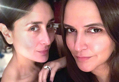 Pix: When Kareena Kapoor throws a party!