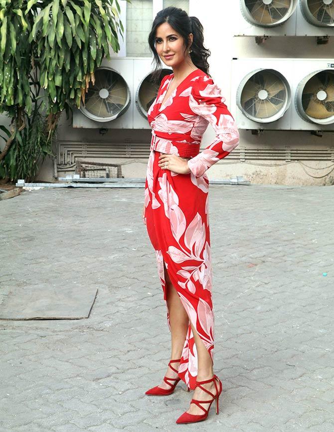 Katrona Kaif. Photograph: Pradeep Bandekar