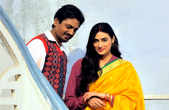 Athiya Shetty and Nawazuddin Siddique in Motichoor Chaknachoor