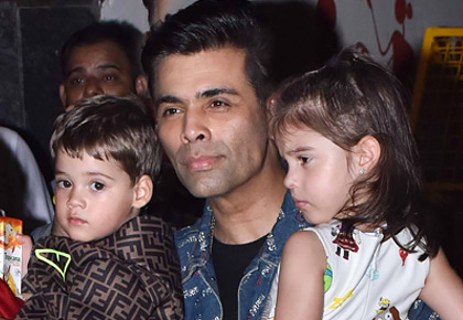 PIX: Karan Johar's kids at Aaradhya's birthday party